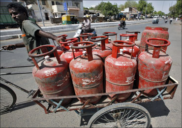 Cooking gas prices too would go up.