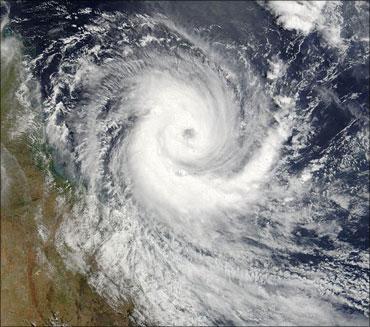 A cyclonic storm