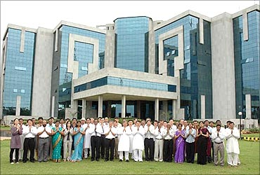 Posco headquarters in Orissa.