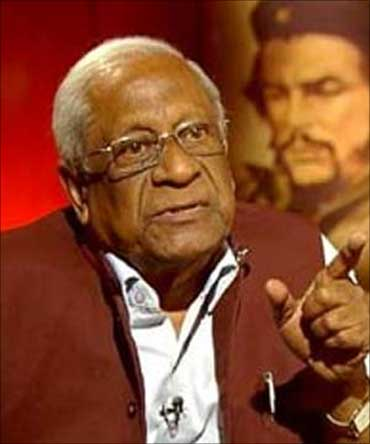 CPI General Secretary A B Bardhan.