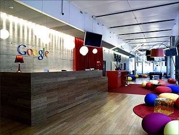 Google office.