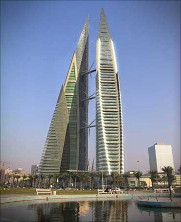 Bahrein financial harbour.