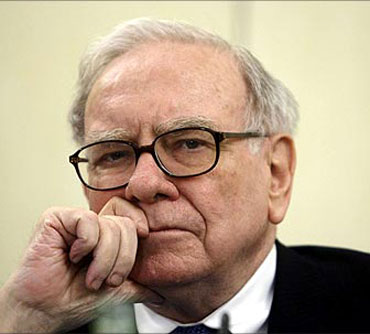 Lengedary investor Warren Buffett.