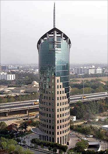 DLF Tower.