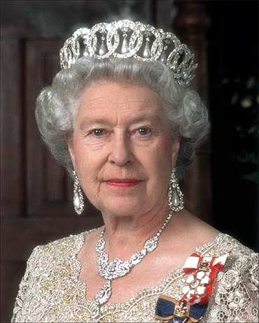 Queen Elizabeth.