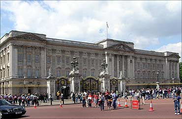 Buckingham Palace.