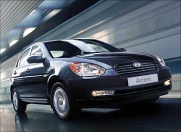 Hyundai Accent.