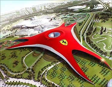 Ferrari Theme Park, Dubai.