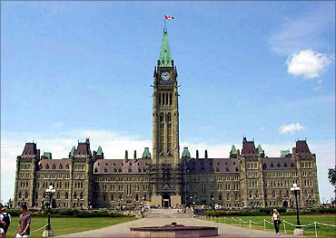Parliament building, Canada.
