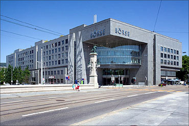 Swiss Stock Exchange.