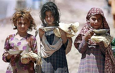 Children in Sri Lanka.