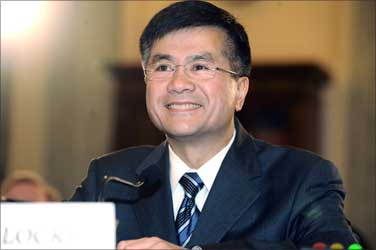 US Commerce Secretary Gary Locke.