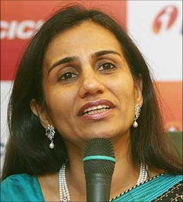 ICICI Bank CEO and MD Chanda Kochhar.