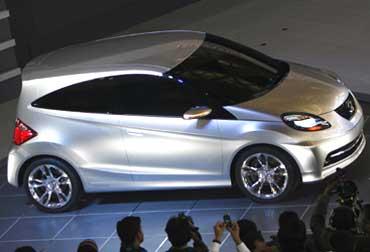 Honda small car