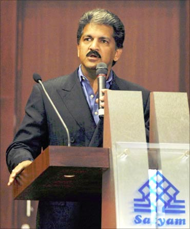 Anand Mahindra donated $10 to Harvard.