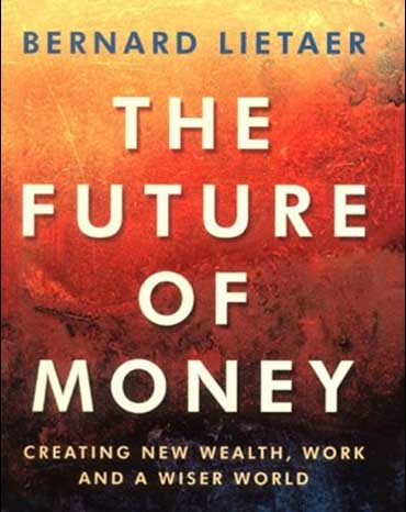 The future of money book cover.