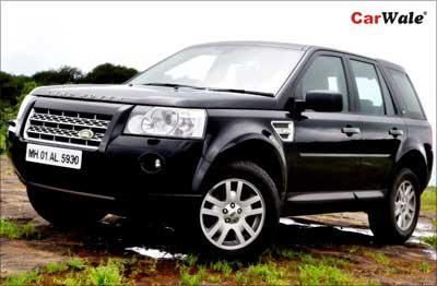 Land Rover Freelander2.