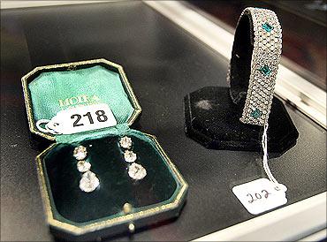 Ruth's Madoff's jewellery.