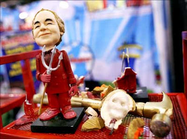 A Bernie Madoff action figure.