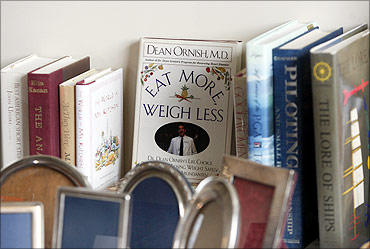 A book titled, Eat More, Weigh Less belonging to Bernard Madoff.