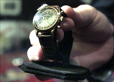 A Rolex watch owned by Bernard Madoff.