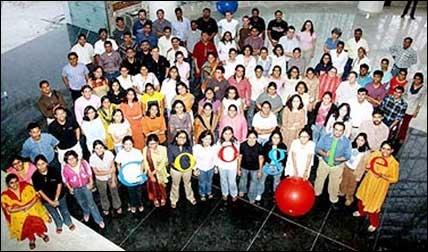 Googe India office.