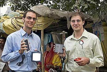 Sam Goldman (left), with co-founder Ned Tozun.