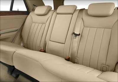 The rear seats.