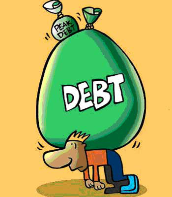 Debt trouble.
