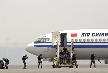 Air China passenger jet.