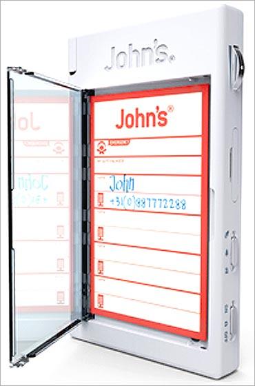 John's Phone.