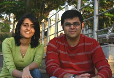 Ruchika Abbi and Akash Saxena.