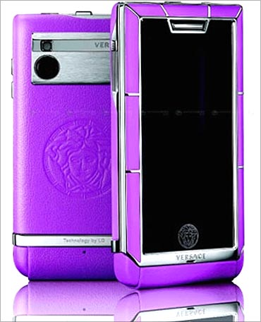 Versace mobile phone.