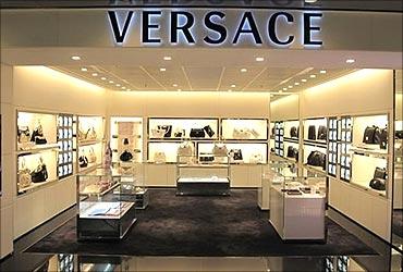 Versace store.