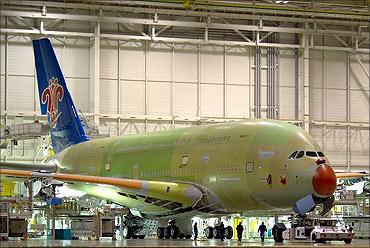 Airbus 380.