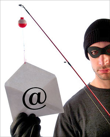 Beware of phishing.