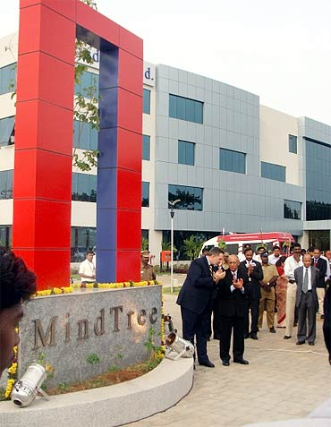 Mindtree office.