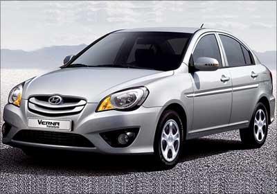 Hyundai Verna Transform.