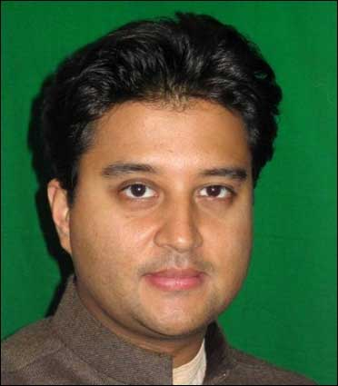 Minister of state for Commerce and Industry, Jyotiraditya Scindia.