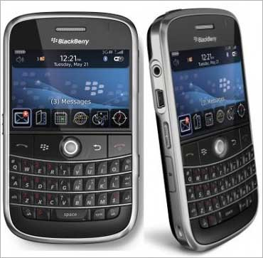 BlackBerry handsets.