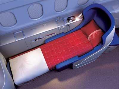 A First Class seat.