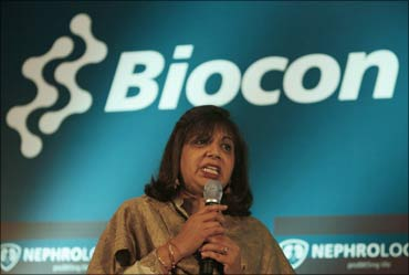 Kiran Mazumdar-Shaw, chairman and managing director of Biocon Ltd.