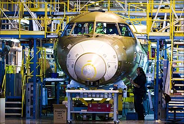 The making of an aircraft