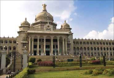 Vidhan Souda in Bengaluru.
