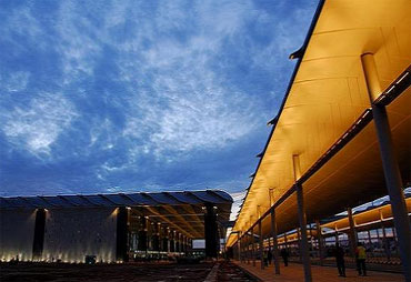 The new Bengaluru International Airport.