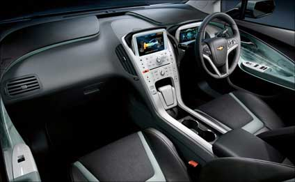 Interior view of Volt.