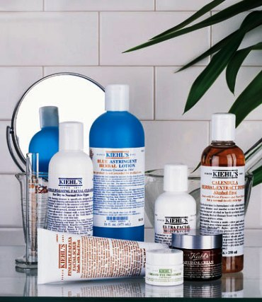 Kiehl's products.