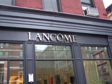 A lancome store.