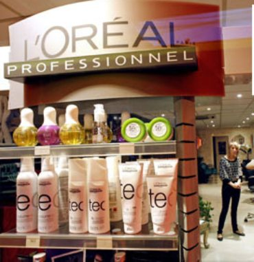 L'Oreal store.