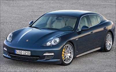 Porsche Panamera.
